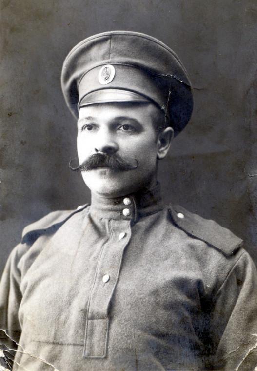 1915 год. Участник Первой мировой войны. Семеновский полк.